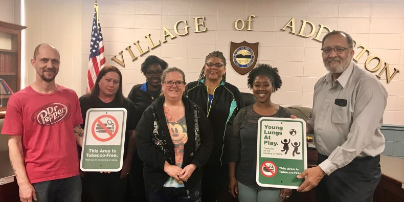 Addyston Tobacco Free Signage – Version 2