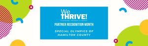reads we thrive partner recognition month Special Olympics of Hamilton County
