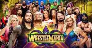 Watch WWE Wrestlemania 34 2018 online free