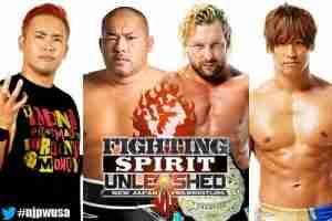 Watch NJPW Fighting Sprit Unleashed USA Walter Pyramid 2018