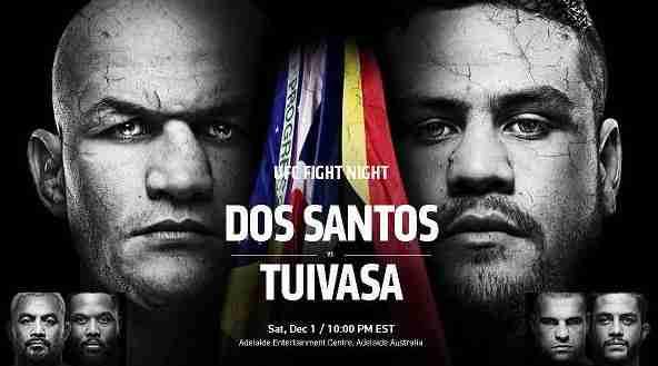 UFC Fight Night 142: Dos Santos vs. Tuivasa 1/12/18