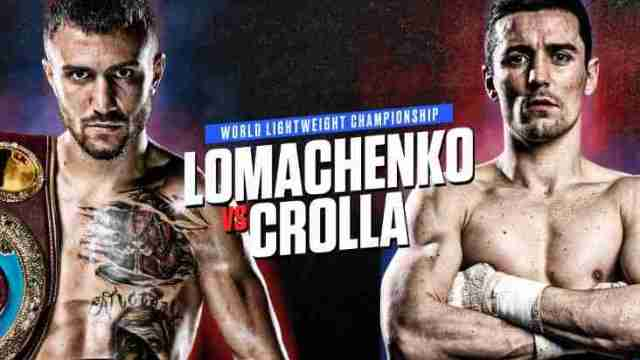 Watch Anthony Crolla vs. Vasiliy Lomachenko 04/12/19