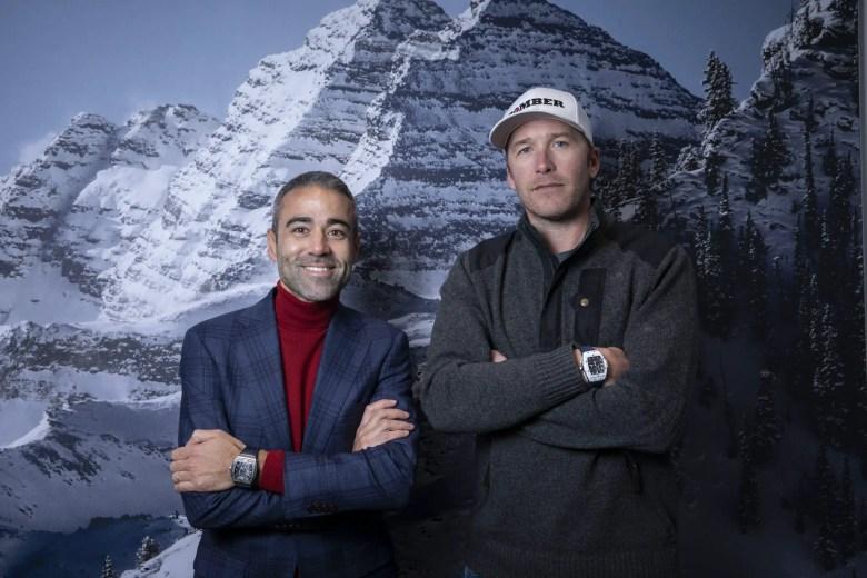 Jean Francois Sberro And Bode Miller At Hublot Aspen Boutique Opening 3 Jpg 2.