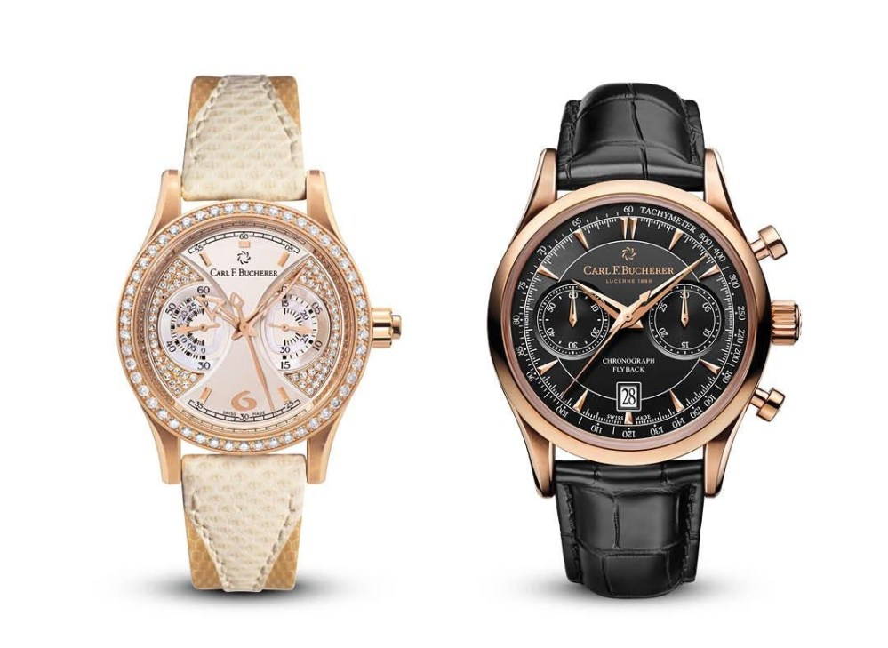The Timepieces Manero Monograph And Manero Flyback