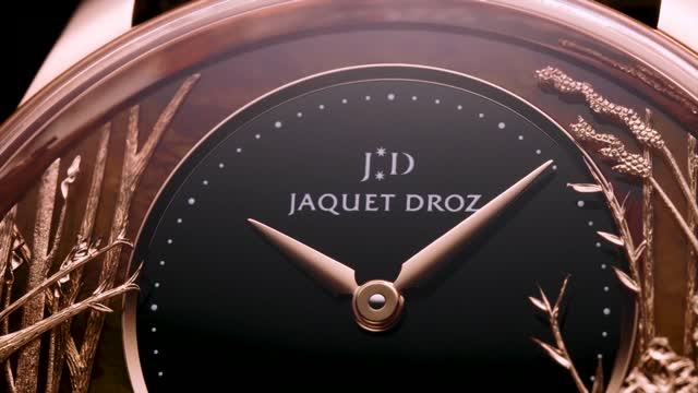 Jaquet Droz Loving Butterfly Automaton J032533275 Sn 1080p Dvd.original