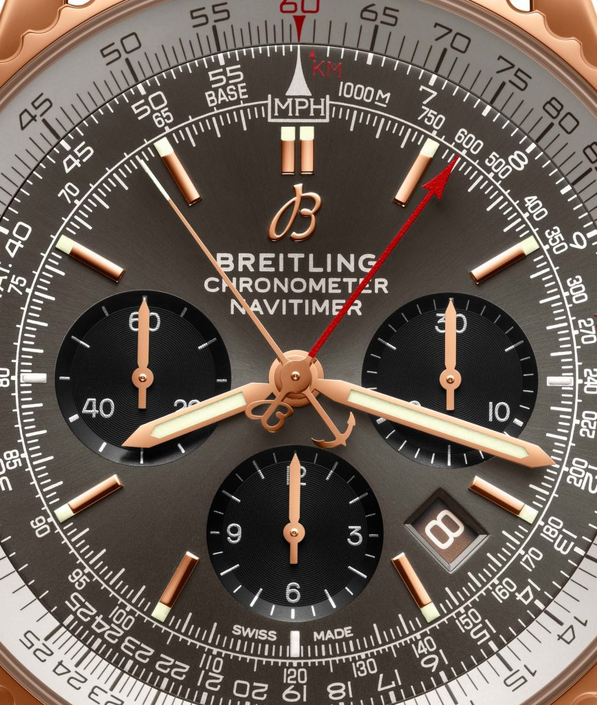 S03 Navitimer B03 Chronograph Rattrapante 45 Copy Scaled