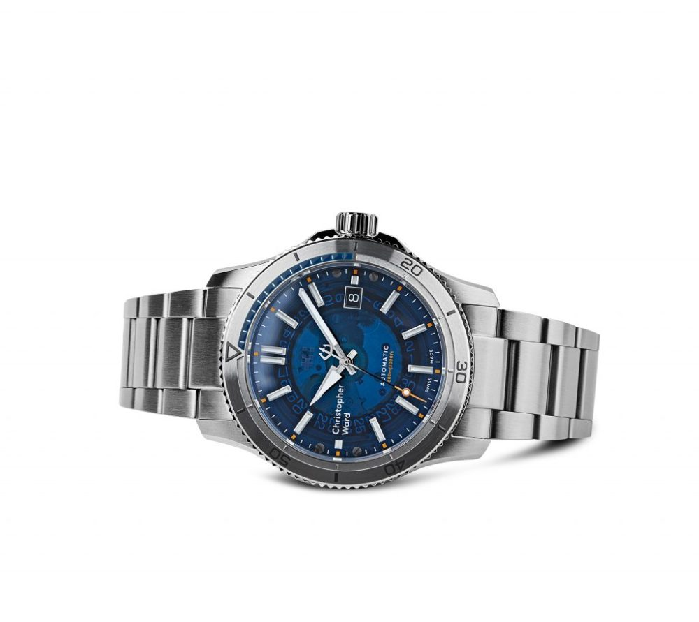 C60 Sapphire Bracelet Strap £895 Www.christopherward.co .uk  1024x912