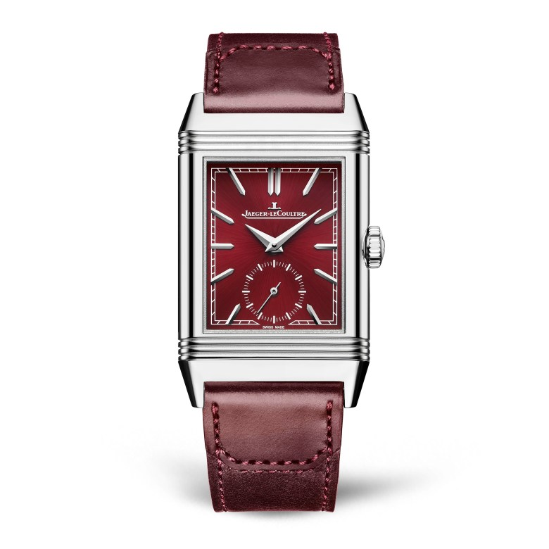 Jaeger Lecoultre Reverso Tribute Small Seconds Front 126359 1024x1024