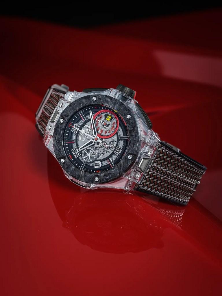Hublot Big Bang Scuderia Ferrari 90th Anniversary Sapphire 2 Jpg. 768x1024
