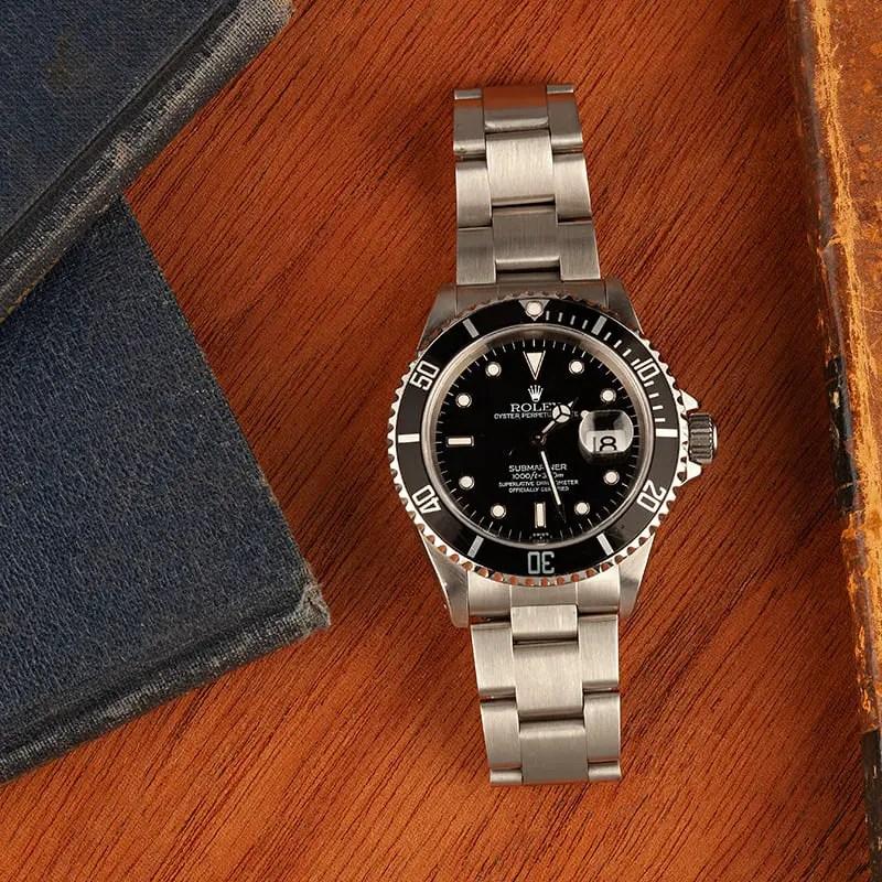 ZSubmariner Rolex Watch 16610 131847s