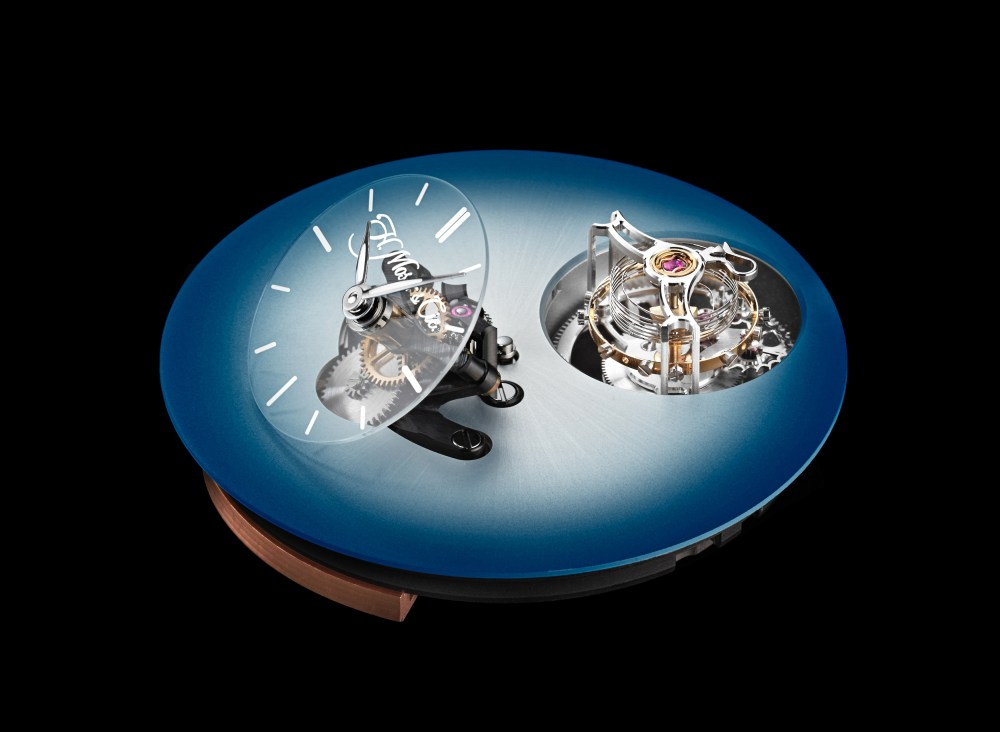 H. Moser x MB&F Endeavour Cylindrical Tourbillon and the LM101 MB&F x H