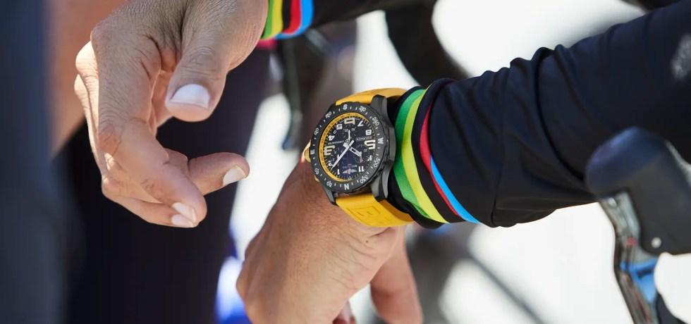 Triathlon Squad member Chris McCormack wearing the new Endurance Pro