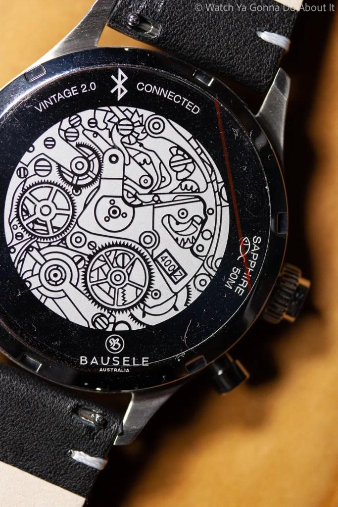 Bausele Vintage 2.0 Watch case back Bausele Vintage 2.0