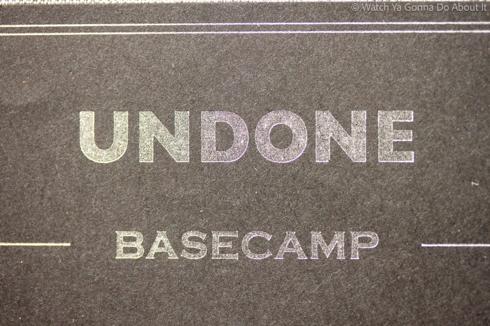 UNDONE watches Basecamp