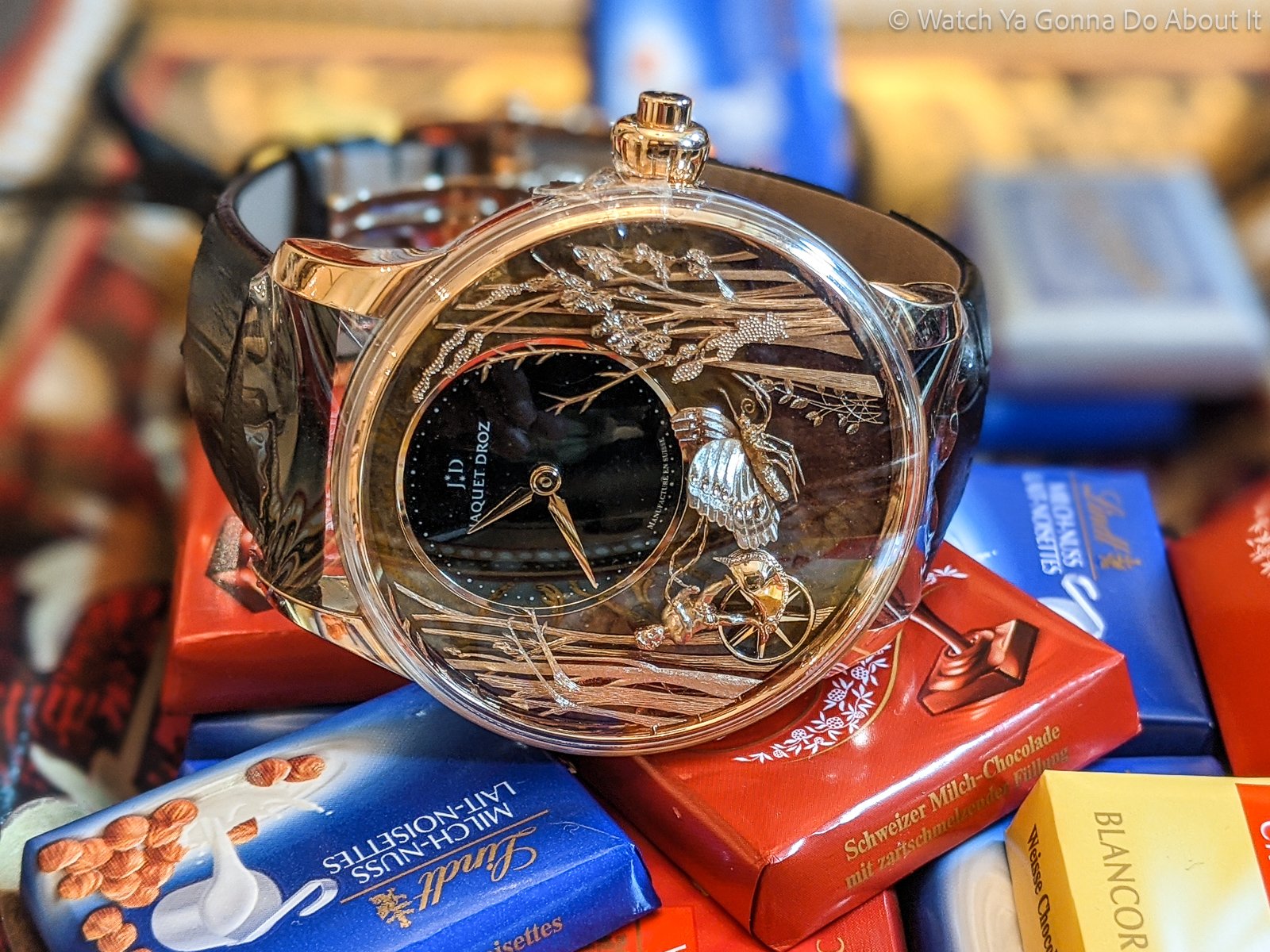 Jaquet Droz Loving Butterfly 2