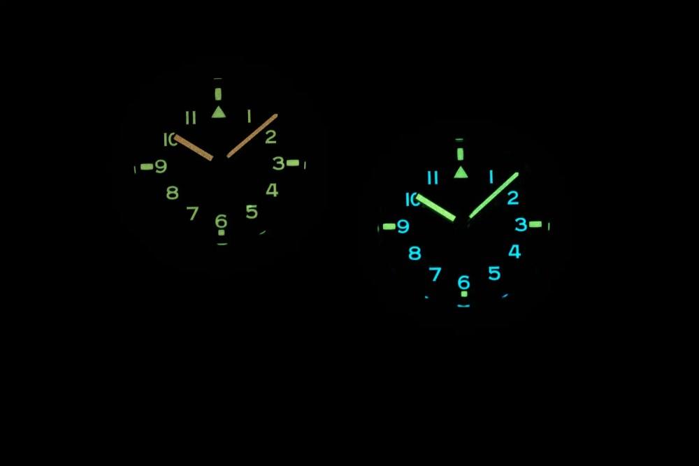 The new UNDONE Terra Collection - The UNDONE Terra Daybreak and Terra Nightfall Lume in darkness