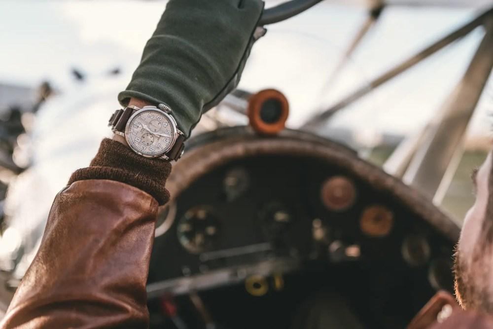 New Zenith Pilot Type 20 Chronograph Silver