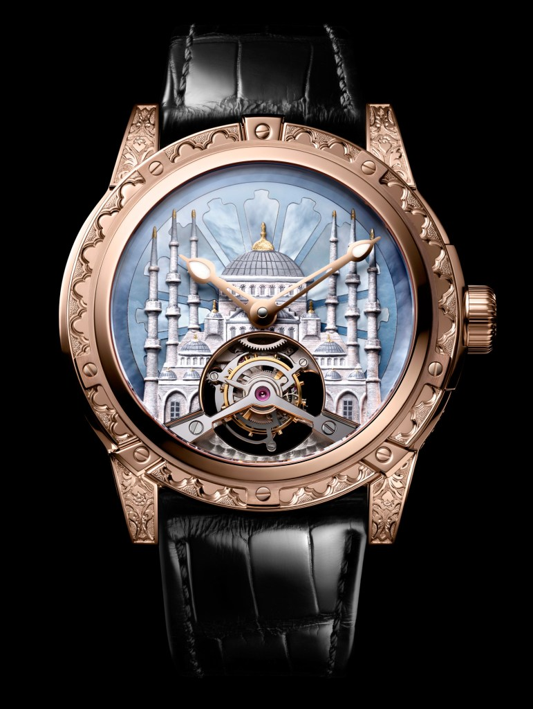New Louis Moinet '8 Marvels of the World' The Blue Mosque