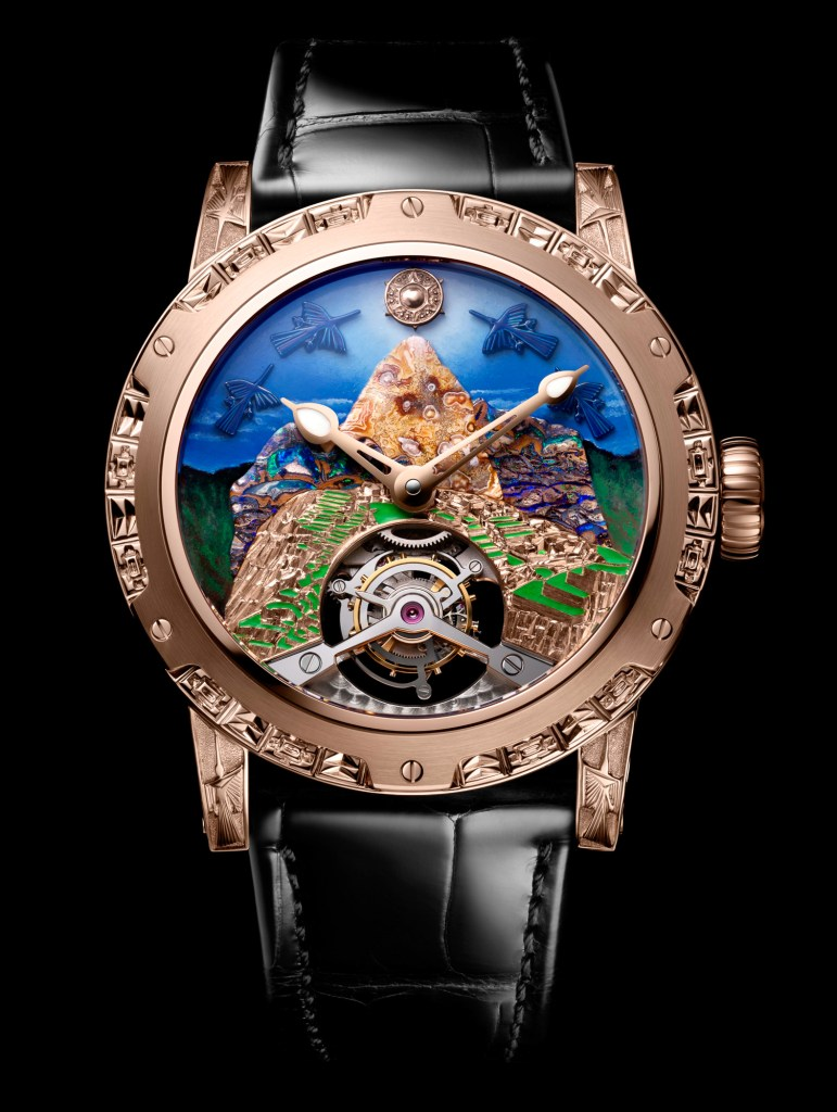New Louis Moinet '8 Marvels of the World' Machu Picchu