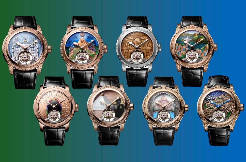New Louis Moinet '8 Marvels of the World'