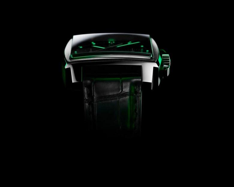 new TAG Heuer Monaco Green