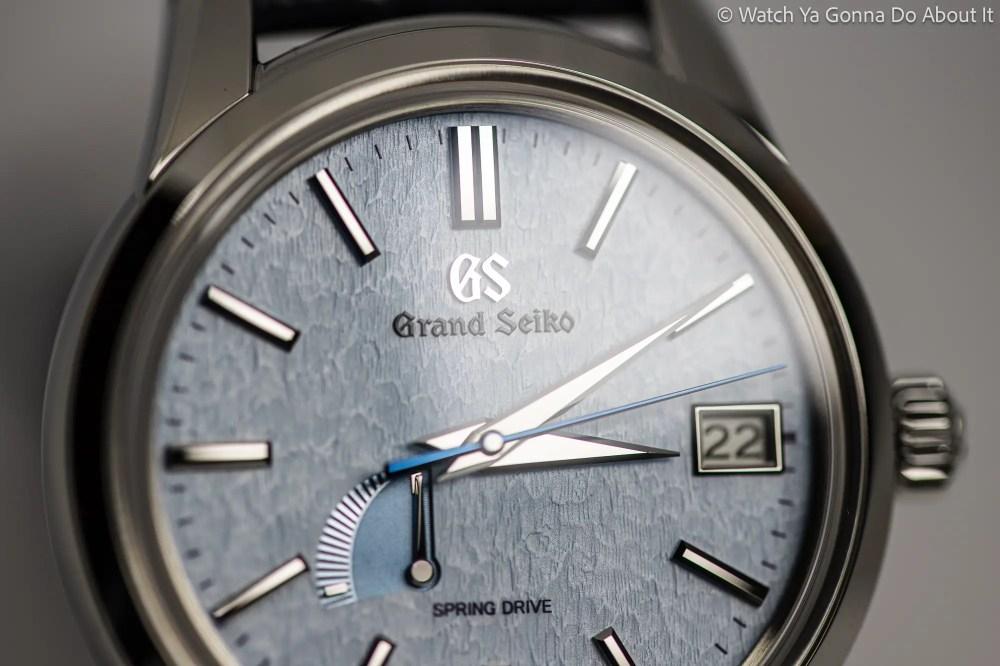 Grand Seiko Skyflake SBGA407