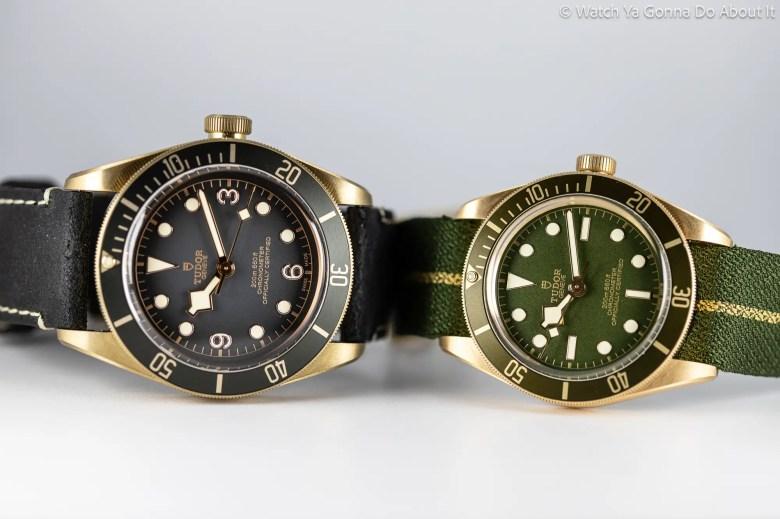 new Tudor Black Bay Fifty Eight Bronze Boutique Edition