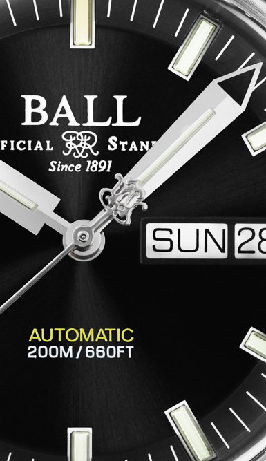 New Ball Engineer II Skindiver Heritage