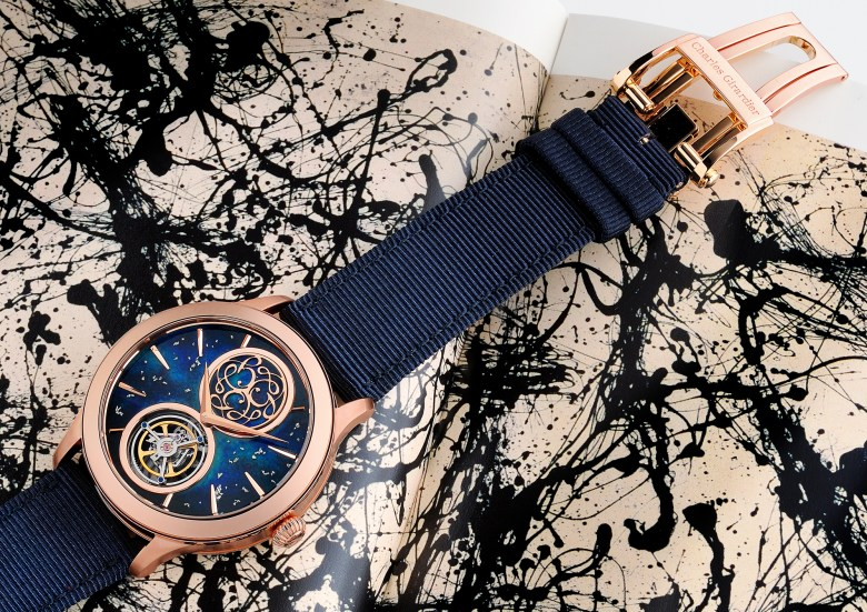New Charles Girardier 1809 Tribute to Jackson Pollock Only Watch 2021