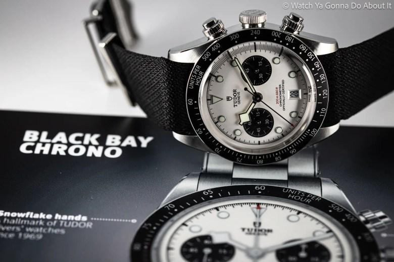 New Tudor Black Bay Chrono