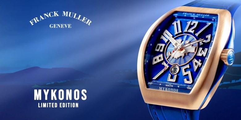New Franck Muller Mykonos Limited Edition