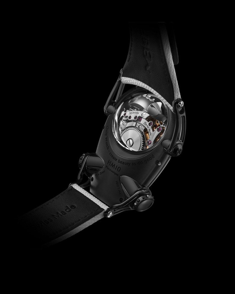 New MB&F Only Watch 2021 HM10 Panda