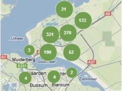 Smakelijk Almere: in een keer 900 nieuwe plukplekken op de wildplukwijzer