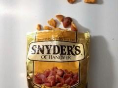 Chips van de week: pretzel pieces van Snyder's of Hanover