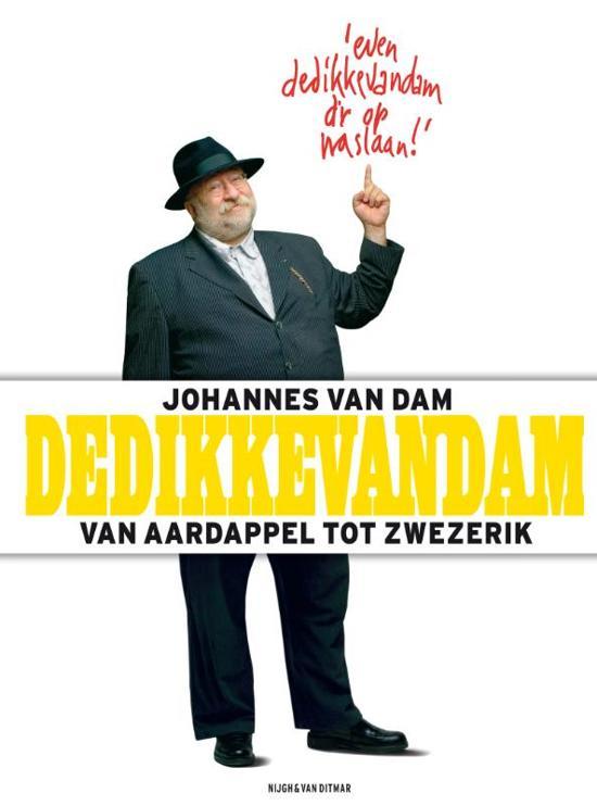 Boek Cover De Dikke Van Dam - Van Dam