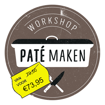 Workshop paté maken – oktober 2019