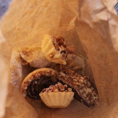 Van links naar rechts met Marokkaanse streetfood
