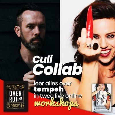 Wateetons Workshop Collab: tempeh workshops met Vanja van der Leeden en Meneer Wateetons