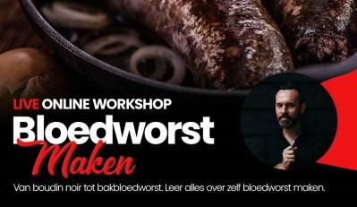 On demand Wateetons workshop 'maak je eigen bloedworst'