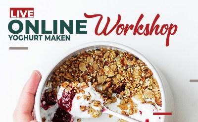 On demand Wateetons workshop 'maak je eigen yoghurt en andere gefermenteerde zuivel'