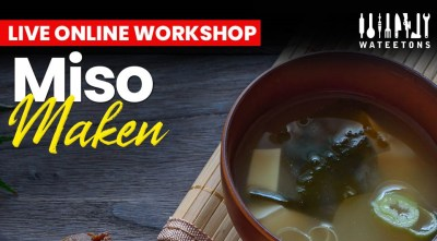 On demand Wateetons workshop 'maak je eigen miso'