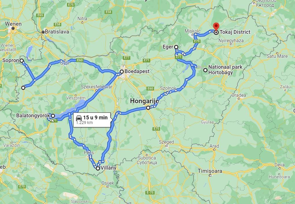 Hongarije roadtrip vanlife