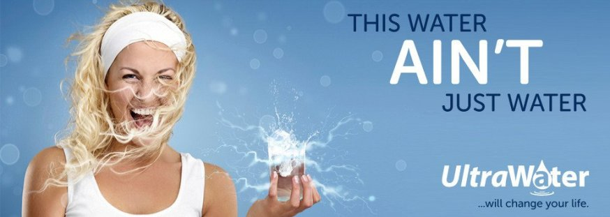 UltraWater filter & ionizer - life enhancement