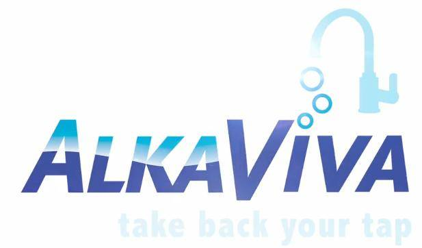 Turn tap water into filtered, clean, mineral rich, alkaline, antioxidant , structured ionized water with AlkaVivaAlkaViva UltraWater filter logo </span srcset=