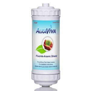 AlkaViva UltraWater Flouride Arsenic shield water filter
