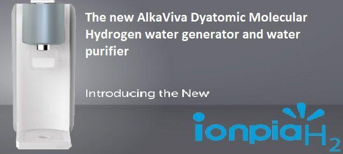 AlkaViva Ionpia H2 molecular hydrogen water generator
