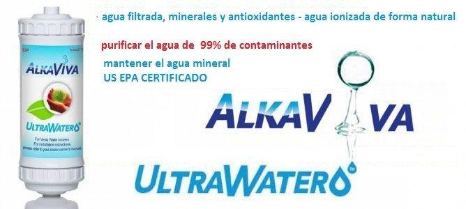 filtro de agua ionizada alcalina UltraWater