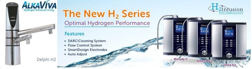 ioniseurs d'eau alkaviva h2