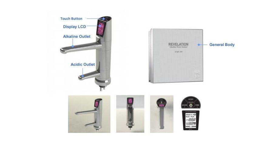 EOS REVELATION II undersink water ionizer & faucet