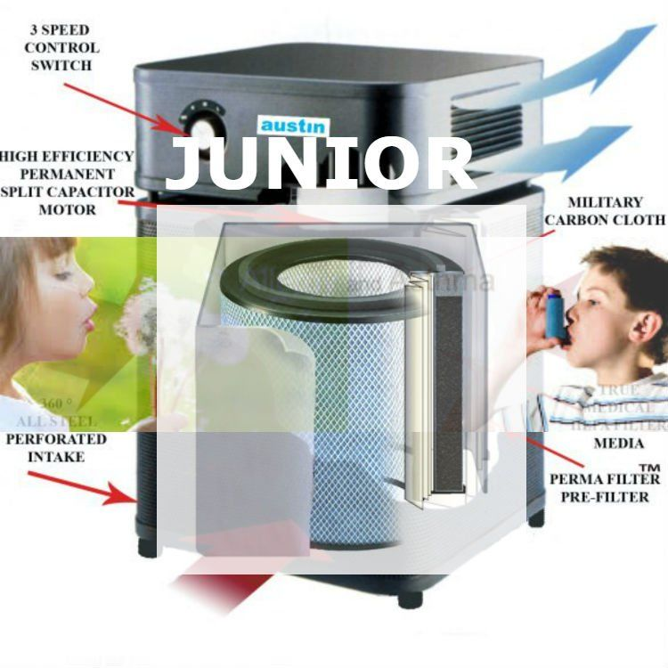 Austin Air Allergy Machine air purifier_Junior_filter